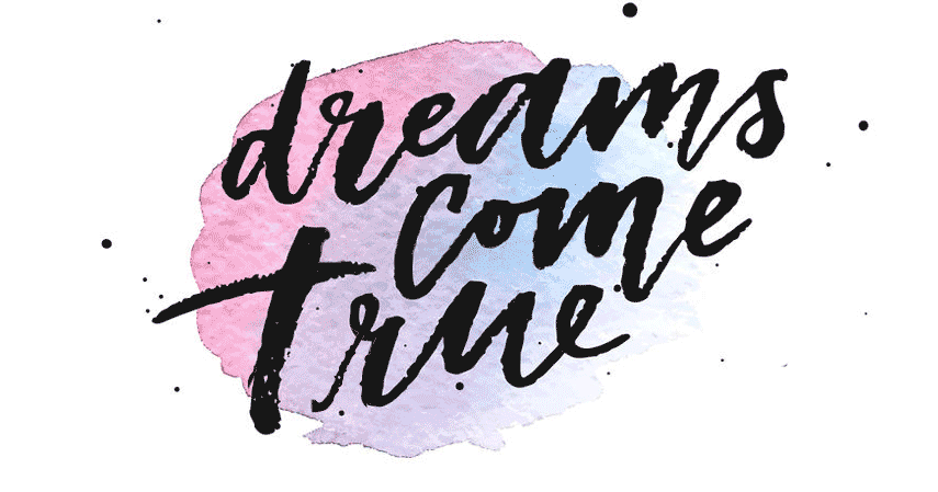 Poem where dreams come true larc school view larger image dreams come true watercolor painting thecheapjerseys Choice Image